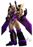 Blitzwing by UndeadKitty13