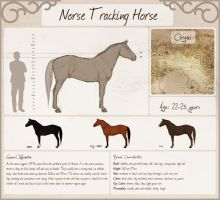 Norse Tracking Horse by Chrysanthi