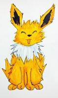 Eeveelution- Jolteon by MousieDoodles