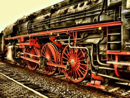 old train with hdr by devils666
