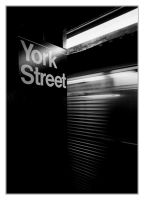 York Street by divagation