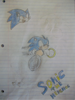 Sonic The Hedgehog. by zack-pack