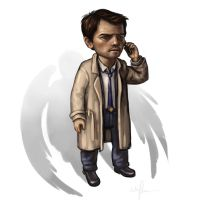 Castiel by AnnPars
