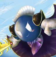 Still Fighting - Metaknight by nintendo-jr