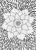 Psychedelic Flower by satindoll3