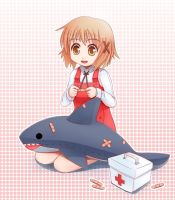 Shark Yuno by sunimu