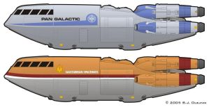 BSG Shuttle - alt liveries by BJ-O23
