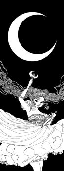 Princess in the Moon by trungles