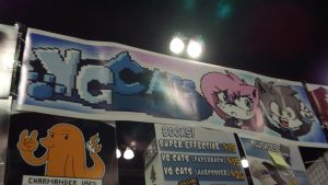 AX 2012: VG Cats Booth by foxanime101
