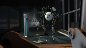 Portal 2 - Wallpaper 3 by alealienn