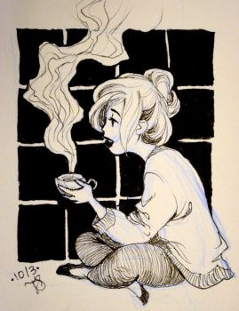 Inktober 2015 by shadowedstar213