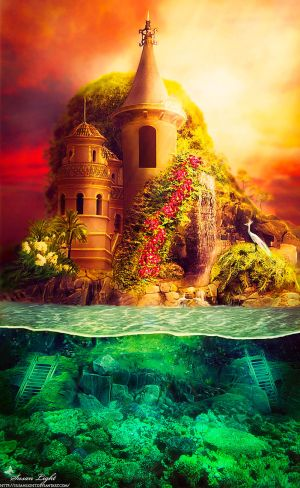 Mermaid Series: Royal Abode by SusanLight