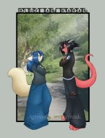 Mister an Miss Hohne by bluefreak