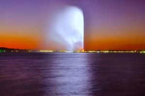 Jeddah Fountain by ashamandour