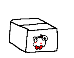 Foxy in a box GIF by burrase