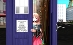 MMD - IA in the TARDIS by emmystar