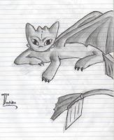 Toothless by Humming-Fly