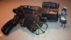 Nerf mod BioShock Big Daddy by GirlyGamerAU