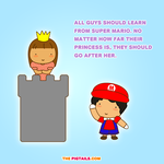 Guys should learn from Super Mario by jazgirl