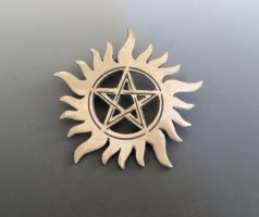 Supernatural Tattoo Pendant by Peaceofshine