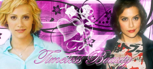 Brittany Murphy banner two by Bellelion