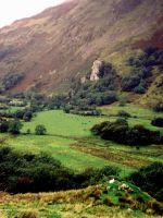 Lakes district valley by GoblinStock