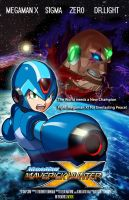 Megaman X Movie Poster by normalguycap
