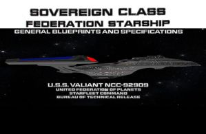 USS Valiant Blueprints by TrekkieGal