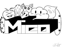 Doodle-mico by pranch
