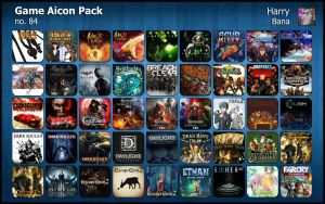 Game Aicon Pack 84 by HarryBana