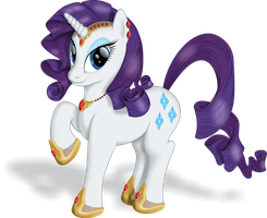 Rarity - Ruby Lady by blueSpaceling