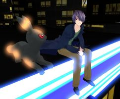 MMD - On the Rooftop by Deceitful96