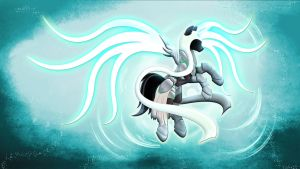Wallpaper MLD Pony Auriel by Barrfind