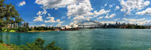 Panorama of Sydney by WhiteWay