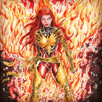 Dark Phoenix by coyote117