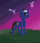 Request - Thunder Strike by Maria-Ben