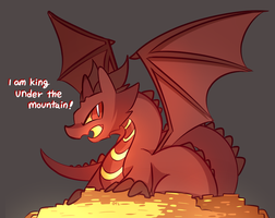 Smaug by MACKINN7