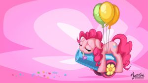 Pinkie Party Pooped 16:9 by mysticalpha