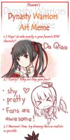 Dynasty Warriors Art Meme by Puu-nyan