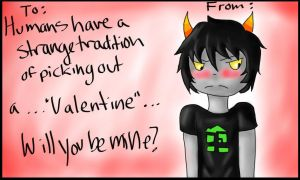 Fandombound Valentine - Homestuck by Snipperss