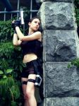Lara Croft - Ambush by TanyaCroft