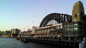 Twilight over Walsh Bay, Sydney, Australia by rbompro1