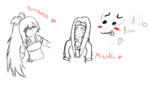 Join Me (sketches) Requests by MiyuKyuu
