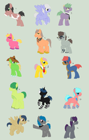 Massive Colts batch by Dulcet-Adopts