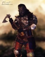 Orc costume (wip) by vikingvin