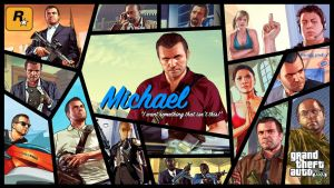 Grand Theft Auto V: Michael De Santa by KevinJRattman