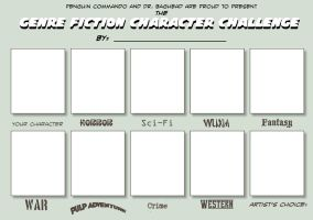Genre Fiction Challenge by penguin-commando