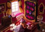 the witch's bedroom by chuwenjie
