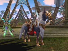 Lineage 2 - Horse mount by Brownfinger