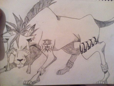 Red XIII by SinfulEnvy88